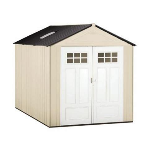 rubbermaid tool shed home depot rubbermaid big max 11 ft x 7 ft ultra storage shed