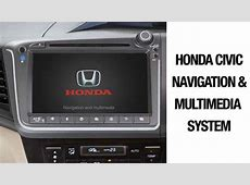 A Solution To Faulty Honda Civic Navigation & Multimedia