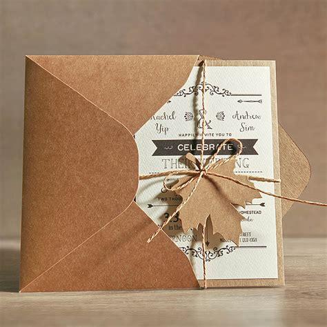 Aliexpress com : Buy 5x7 Rustic Wedding Invitations