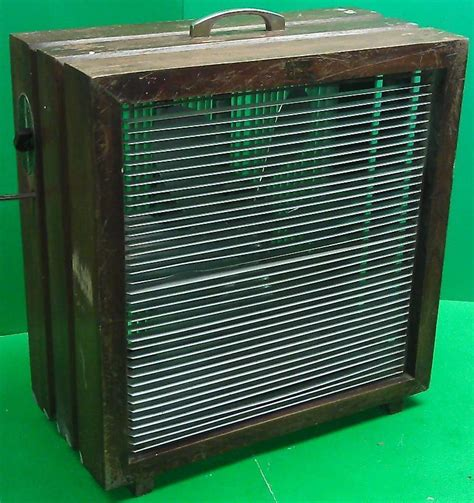 box fan sw cooler vintage mathes cooler model 546 wood box fan the