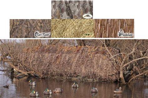 duck blind camo prairiewind decoys free shipping set boat blind