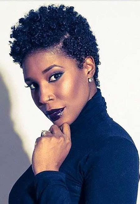 Short Curly Natural Hairstyles for Black Women Best