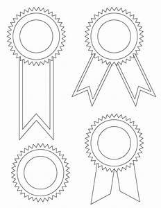 Printable award ribbons for Award ribbon template printable