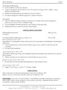 exles of writing a resume sle resume