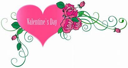 Valentine Valentines Clip Happy Clipart Transparent Roses