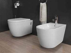 Wc Sitz Lochabstand : design wand h nge wc h nge bidet inkl soft close wc sitz kb80 set ebay ~ Watch28wear.com Haus und Dekorationen