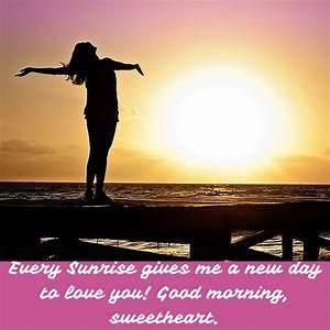 Romantic Couple Good Morning Wallpaper