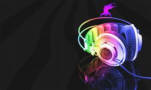 Cool 3D Headphone Music HD for Mobile Wallpaper: Desktop ...