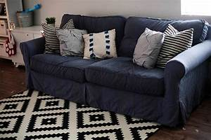 How to dye a sofa slipcover for How to cover furniture with fabric