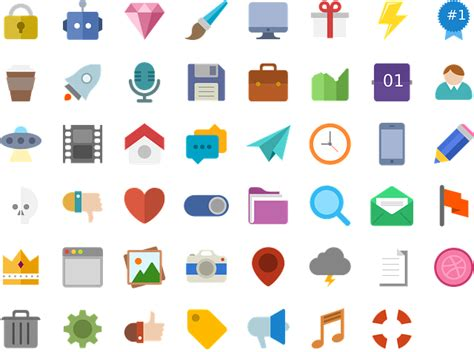 Icons Flat Design · Free Vector Graphic On Pixabay