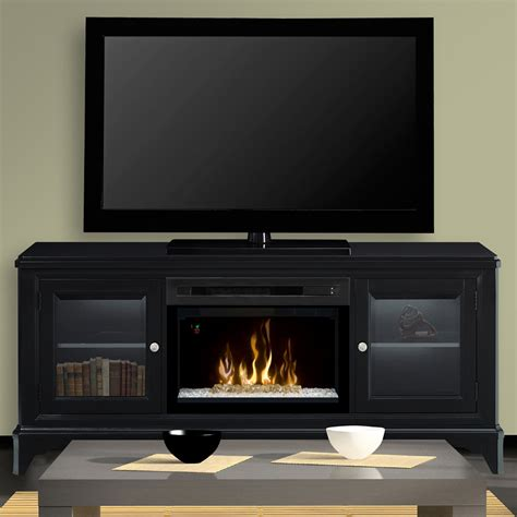fireplace entertainment centers winterstein black electric fireplace entertainment center