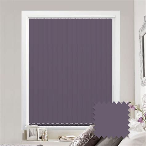 Blinds Purple by Purple Vertical Blinds Made To Measure Vertical Blind In