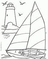 Coloring Ships Sailing Boats Catamaran Ages Patrick Coloringhome sketch template