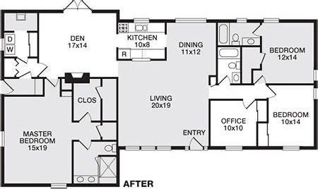remodeled ranch house plans ranch house floor plans ranch house plans ranch house