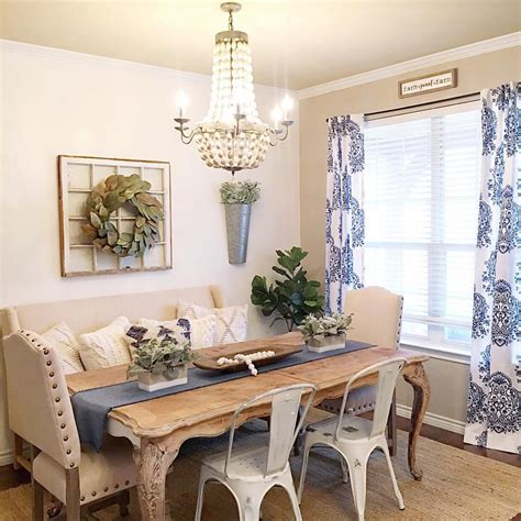 Farmhouse Boho Glam Dining Room See This Instagram Photo