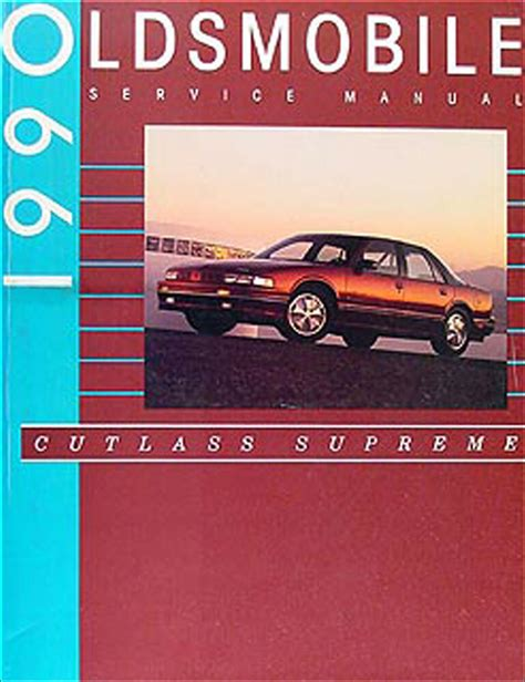 car repair manuals online free 1992 oldsmobile 88 head up display 1990 oldsmobile cutlass supreme repair shop manual 90 olds original oem ebay