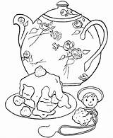 Coloring Tea Pages Party Birthday Teapot Cake Teacup Printable Adult Decorative Honkingdonkey Colouring Sheets Pre Parties Google Victoria Coloringpagesfortoddlers Relaxation sketch template