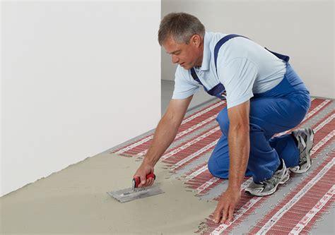 Elektrische Fußbodenheizung Verlegen by Elektrische Fu 223 Bodenheizung Unter Fliesen Verlegen