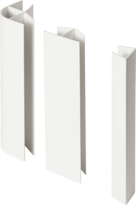 plinthe de cuisine pack raccord plinthe cuisine pvc blanc 16 19x150mm bricoman