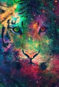 tiger galaxy wallpaper | ~wallpapers~ | Pinterest ...