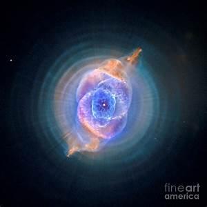 The Cat's Eye Nebula Photograph by Nicholas Burningham