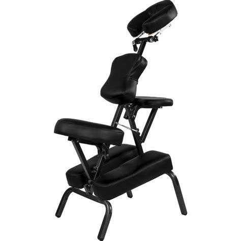 Siège Massage Tatouage Pliable Portable Noir