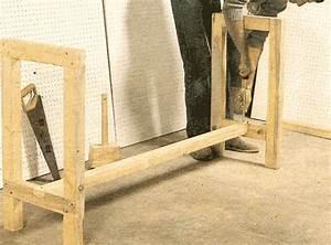 Construire Un établi En Bois : une conception tr s simple pour fabriquer l 39 tabli de ~ Premium-room.com Idées de Décoration