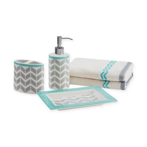 Gray And Teal Bathroom Accessories by Buy Teal Accessories From Bed Bath Beyond