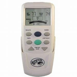 Hampton bay chq t thermostatic remote control