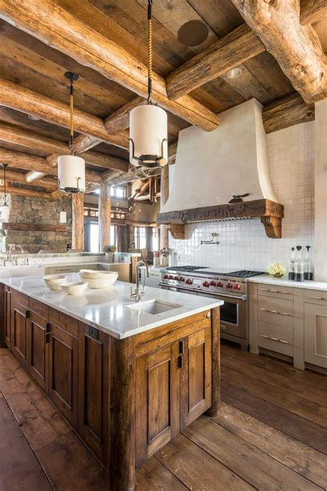 inspirational rustic kitchen designs   adore