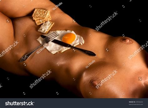 Still Life Scene Seductive Breakfast Served Stock Photo Shutterstock