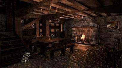 Tavern Medieval Turbosquid Fantasy Concept Castle Poly