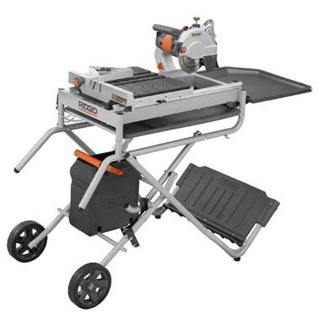Ridgid 7 Inch Tile Saw Model R4030 by Ridgid 7 Quot Site Tile Saw With Laser Model R4007