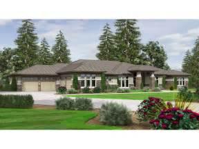 Prairie Style Ranch Home Plans