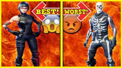 ranking  epic skin  worst   fortnite