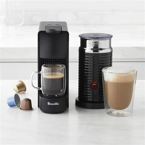 Essenza Nespresso by Nespresso Essenza Mini Espresso Machine With Aeroccino