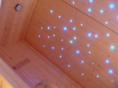 sauna led beleuchtung lichtwellenleiter kunststoff und glas lwl