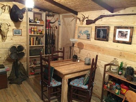 guy builds  man cave     straight