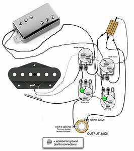 Wiring For Tele Custom