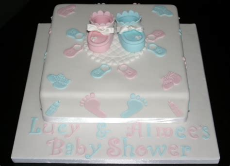 square baby shower cakes gallery