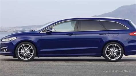 New 2015 Ford Mondeo Wagon