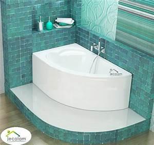 Acryl Badewanne Reinigen : badewanne eckbadewanne acryl 130 x 85 cm sch rze ablauf ~ Lizthompson.info Haus und Dekorationen