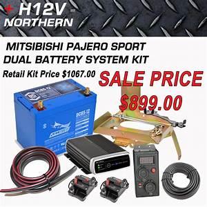Mitsibishi Pajero Sport Dual Battery System