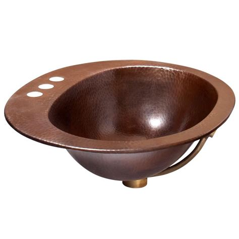 home depot vessel sink oval premier copper products large hammered vessel sink