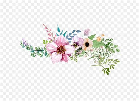 flower hand painted watercolor flower decoration pattern