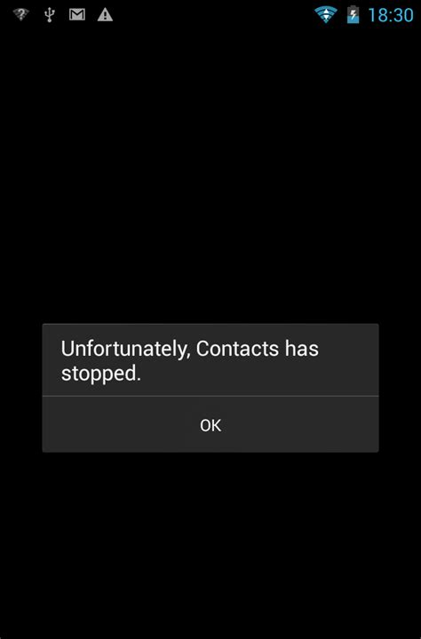 unfortunately android phone has stopped how to fix unfortunately contacts has stopped error on
