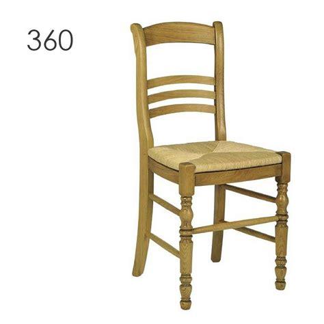 chaise en chene chaise de cuisine rustique en chêne massif 360 350 4
