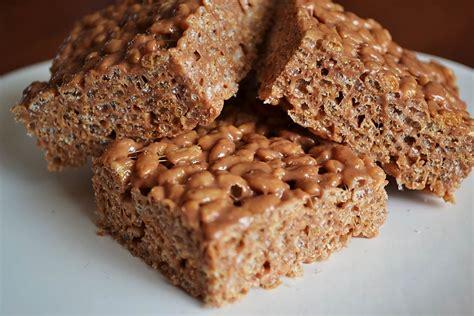 peanut butter treats chocolate rice krispies treats recipes dishmaps