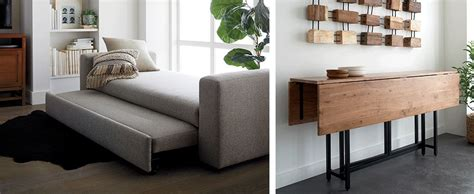 small space furniture ideas crate  barrel