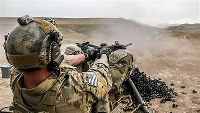 Special Forces Army Afghanistan Gun Machine